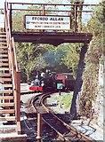 SH6441 : A train comes in by Dewi