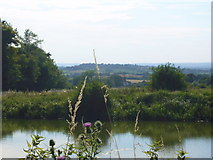 ST9861 : Side Pool, Caen Hill Locks. by Simon Scurr