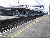 TQ4085 : Forest Gate railway station by Nigel Cox