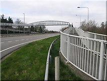 SK1831 : Long Footbridge by Michael Patterson