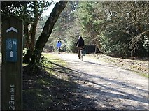 SU2609 : Acres Down Cycle Track. by Gillian Thomas
