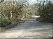 TQ2352 : Junction at Merrywood Grove by John Hilton