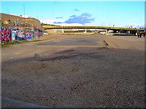 TQ3303 : Site of Black Rock Swimming Pool by Simon Carey