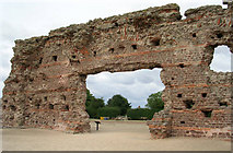 SJ5608 : Wroxeter Roman Remains by Betty Longbottom
