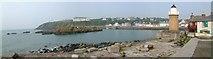 NW9954 : Portpatrick panorama by Mari Buckley