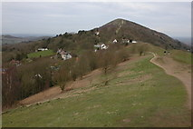 SO7643 : Upper Wyche, The Malvern Hill by Philip Halling