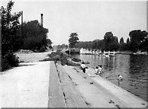 TQ0172 : Bell Weir Lock, River Thames by Dr Neil Clifton