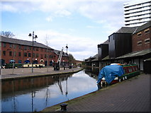 SP3379 : Coventry Bishop Street canal basin by E Gammie