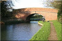 SP6989 : Bridge over Grand Union Canal above Foxton Locks by Richard Dear
