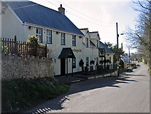 ST0368 : Green Dragon Inn, Llancadle, Vale of Glamorgan by Peter Wasp