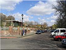 TQ1673 : Former swimming baths site, Twickenham Riverside by Stephen Williams