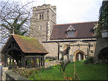 TQ1289 : Pinner: The Church of St John the Baptist by Nigel Cox