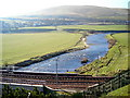 NS9421 : River Clyde Near Crawford by Iain Thompson