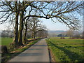 SE6077 : Private tarmac road leading to Ampleforth College by Phil Catterall