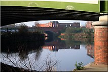 SJ8297 : Bridges over the River Irwell by R lee