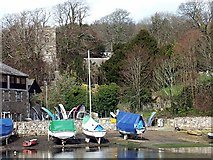 SW7834 : Penryn River. by Fred James