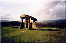 SN0937 : Pentre Ifan burial chamber by Paul Griffin