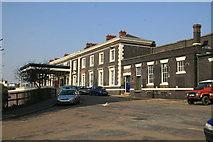 SO8555 : Shrub Hill Station by Chris Allen