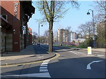SK5803 : Looking north along Western Boulevard, Leicester. by Mat Fascione