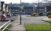 SK5605 : Looking along Blaydon Close towards Stokes Drive, Leicester. by Mat Fascione