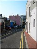 TQ2904 : Little Western Street by Simon Carey