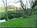 SJ8860 : Footbridge over Biddulph Brook by Neil Lewin