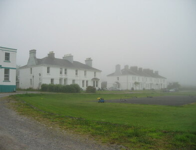 V4276 : Valentia Island Cable Station and residences by Frank Donovan