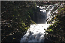 J3996 : Glenoe waterfall (12) by Albert Bridge