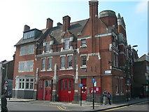 TQ3386 : Former Fire Station, Stoke Newington by Danny P Robinson