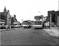 SD8913 : Looking west along Smith Street, Rochdale, Lancashire by Dr Neil Clifton