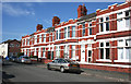 SJ7054 : Terraced houses, Sherwin Street, Crewe by Espresso Addict