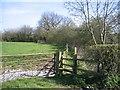 SJ5362 : Footpath near Iddinshall Rough by John S Turner