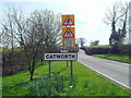 TL0872 : Approaching Catworth by Les Harvey