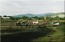 NM5643 : Wrecks at Salen by David Wyatt
