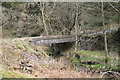 NY5086 : Bridge over a stream in Newcastleton Forest. by Richard Dear