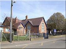 SJ8417 : Church Eaton Endowed Primary School by John M