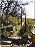 SE1323 : Start of footpath to Brookfoot, Brookfoot Lane, Southowram by Humphrey Bolton