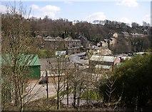 SE1323 : Brookfoot from Brookfoot Lane, Southowram by Humphrey Bolton