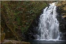 J3996 : Glenoe waterfall (13) by Albert Bridge