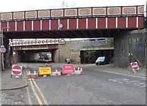 SE2932 : Railway Bridges, Globe Road by Rich Tea