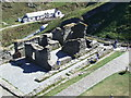 SX0589 : Tintagel Castle by Lynda Poulter