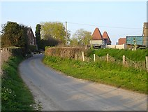 TR0454 : Denne Manor Lane, Shottenden by Penny Mayes