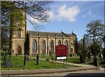 SE1223 : St Anne in the Grove Church, Church Lane, Southowram by Humphrey Bolton