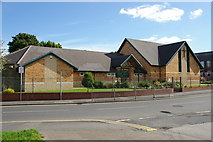 SD7507 : Christ Church, Methodist and United Church, Little Lever by Alexander P Kapp