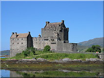 NG8825 : Eilean Donan Castle by Dominic Moore