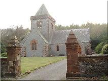 NX9257 : Southwick Parish Church at Caulkerbush by Darrin Antrobus