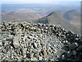 NM5233 : Ben More - Summit Cairn by Hill Walker