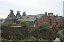 SO9988 : Langley Maltings and the BCN Titford branch by Alan Murray-Rust