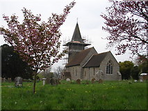 TR1439 : St Mary & Radegund Church by Adam Hincks