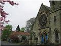 NS9698 : The East Burnside Hall, Dollar Parish Church by wfmillar